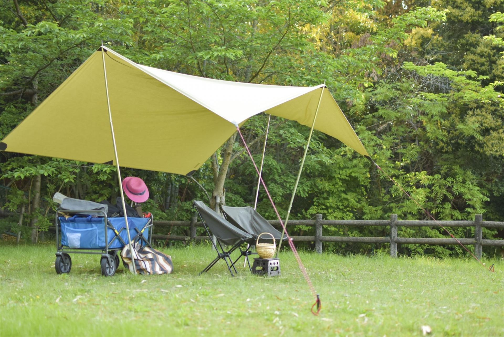 タープはキャンプで必要なの?テントだけあればOKでしょ?