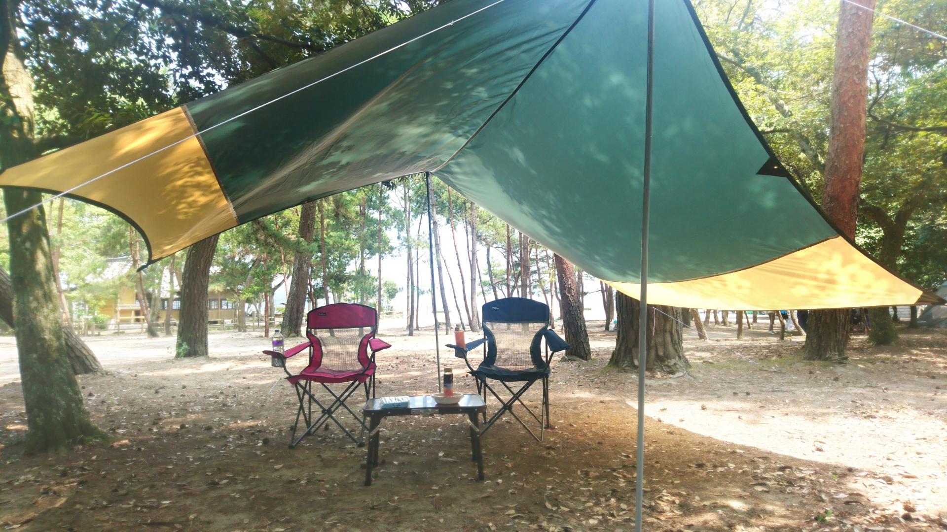キャンプ初心者のためのタープの基礎知識