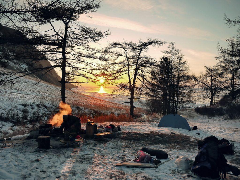 ポリコットン テント