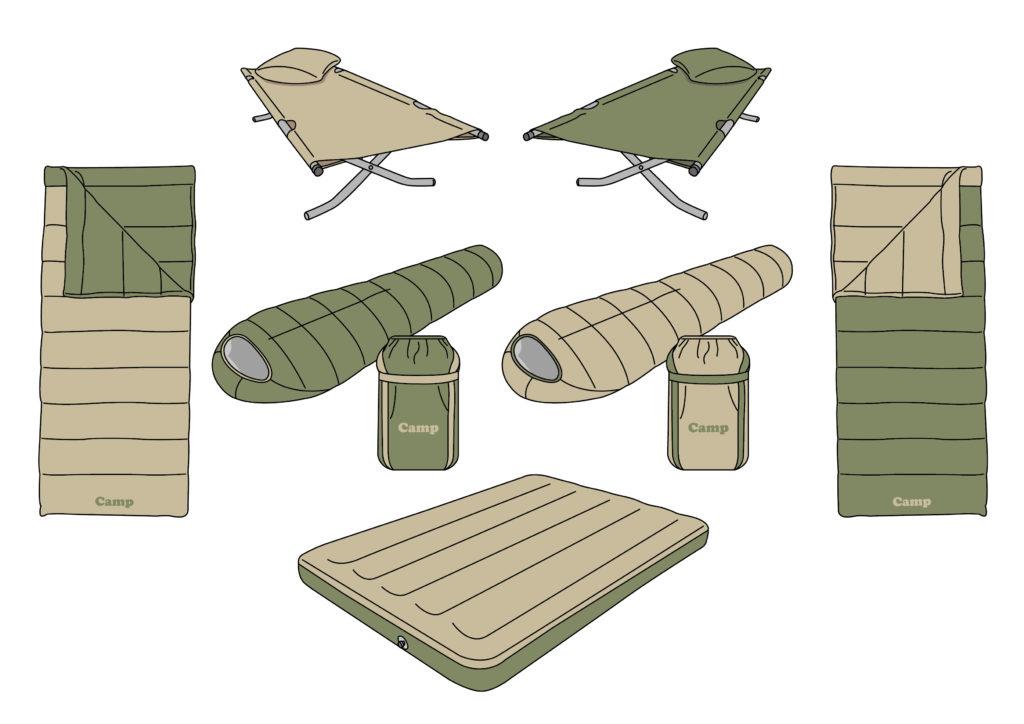 キャンプ初心者が寝袋の選び方で確認するべき3つのポイント!