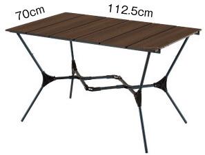 【モンベル】フォールディングテーブルの仕様